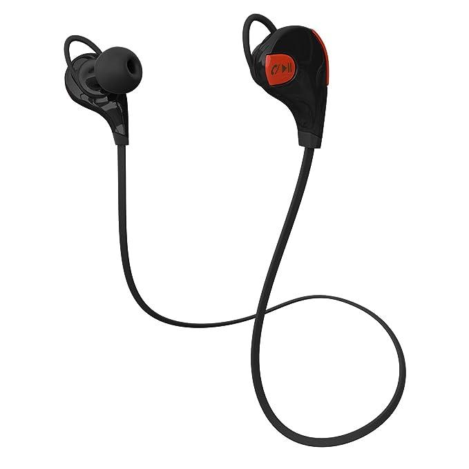 HT cuffie Bluetooth cuffie – Cuffie stereo wireless Bluetooth 4.1 sport  auricolari per corsa b19c3cdd350c