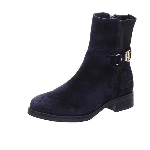 97133012bb1ea Tommy Hilfiger - Botas de Cuero para Mujer  Amazon.es  Zapatos y  complementos