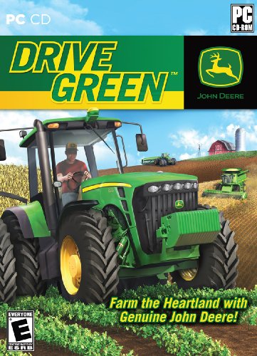 John Deere: Drive Green Jewel Case
