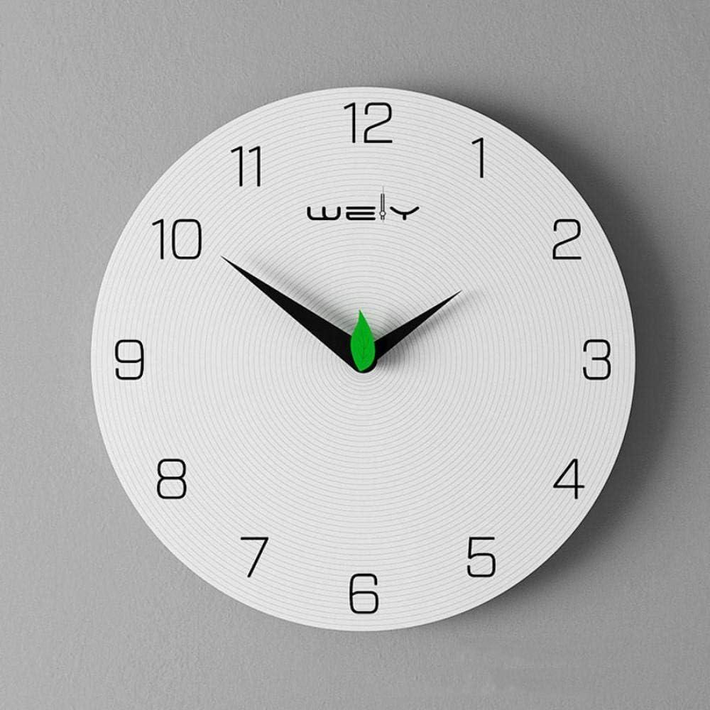 NA Reloj de Pared Reloj De Pared De Madera Diseño Moderno para Sala De Estar Decoración De Dormitorio Reloj Nórdico De Madera Relojes De Pared Decoración