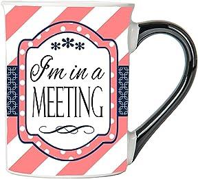 Tumbleweed Funny Mug; I'm In A Meeting Funny Coffee Cup; Humor Coffee Mug