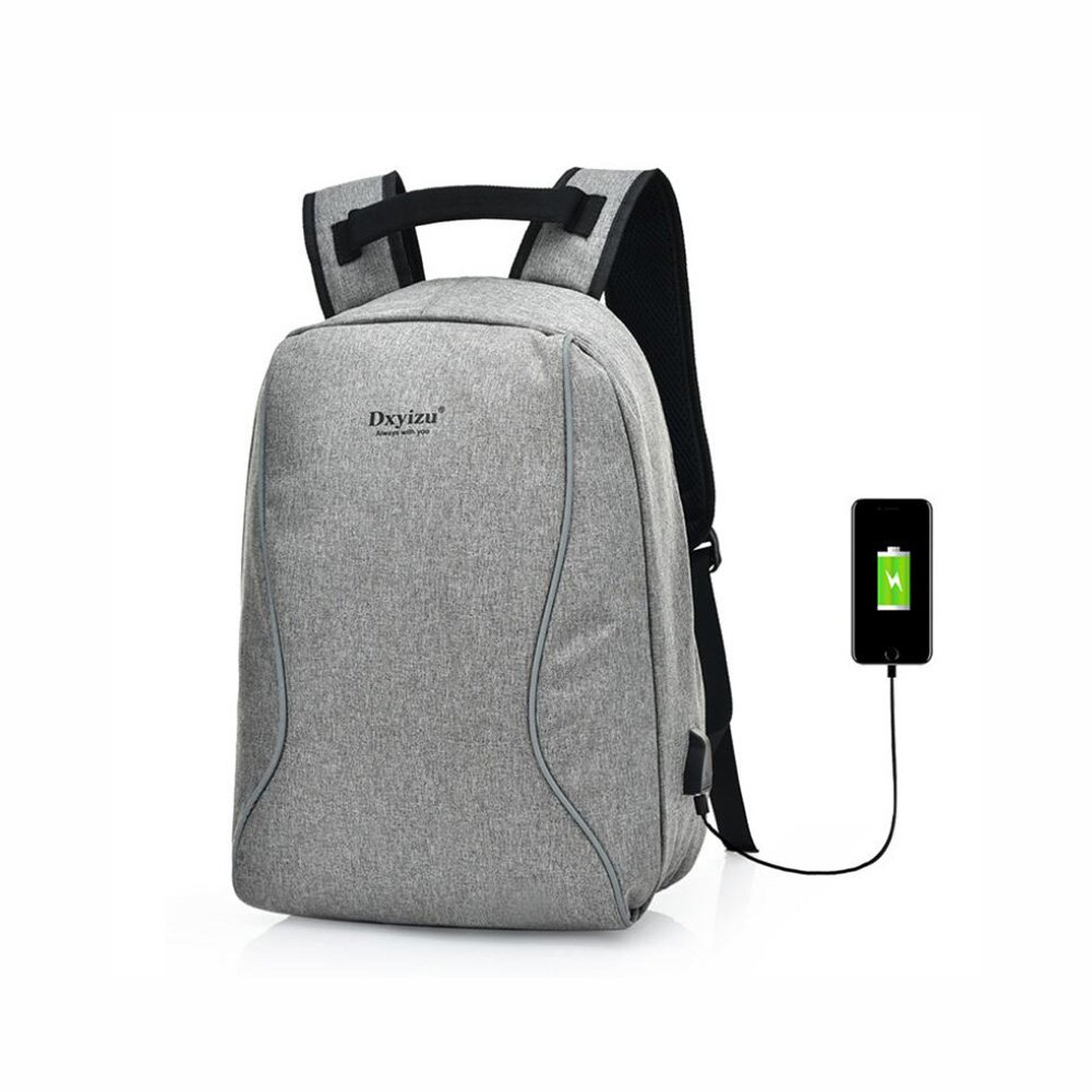 1fc8ae6660a3 Amazon.com  Smart USB Charging Interface Anti-theft Laptop Backpack ...