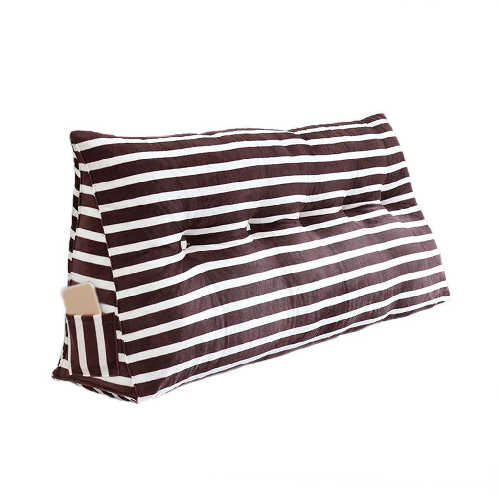 超人気の CSQ枕 ストライプの枕、複数の色の綿の服の耐性のある枕新しい家の装飾の居間の装飾の枕複数のサイズ 180cm|Brown 寝具 (色 Brown : 青, : サイズ さいず : 135cm) B07PV98WQH 180cm|Brown Brown 180cm, 川井村:f55c9ebe --- ciadaterra.com