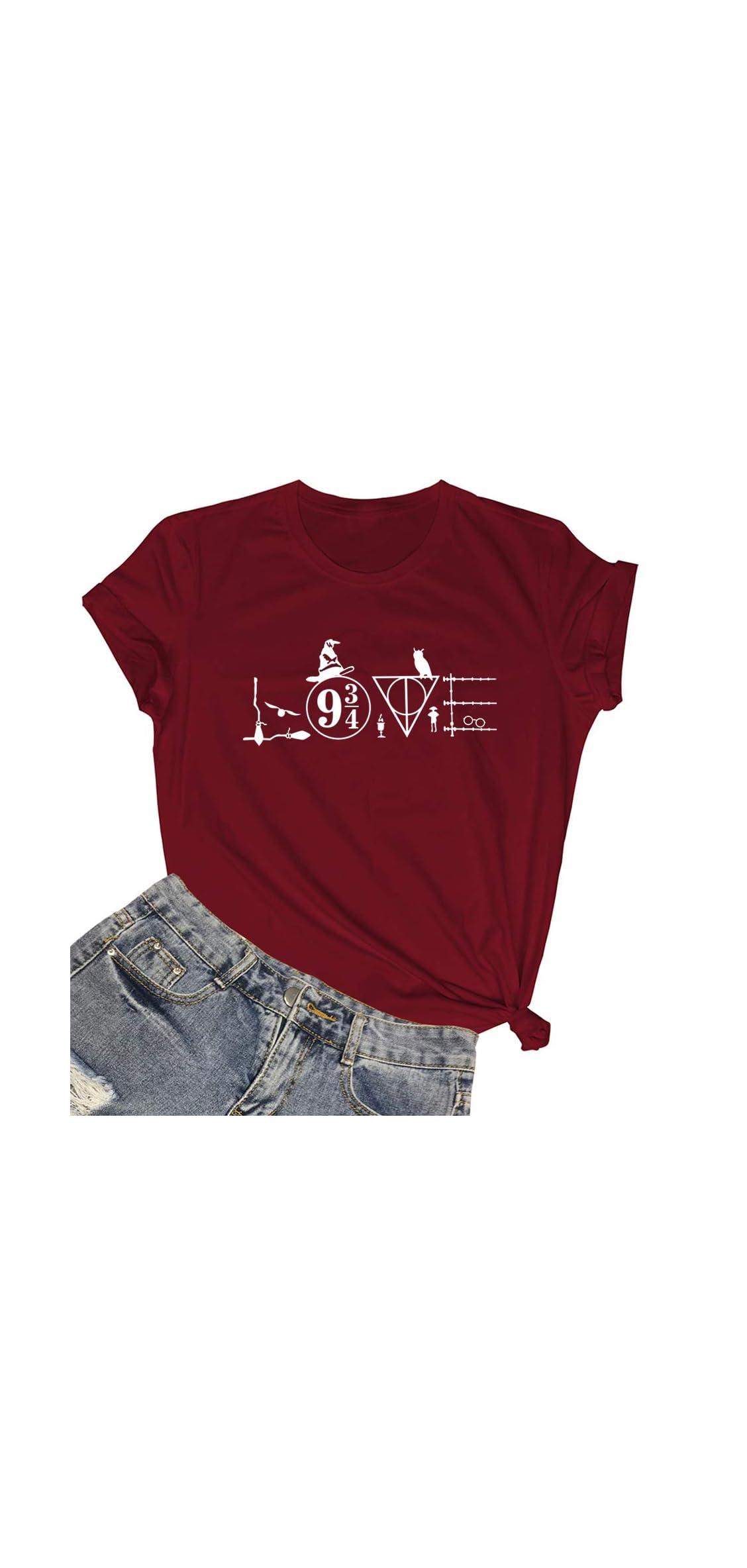 Womens Graphic Printed Tshirts Cute Funny Tees