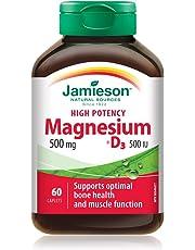 Jamieson Magnesium 500 mg + D3 - High Potency