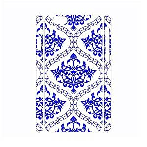Pure Chinese Style White and Blue Porcelain Pattern Handmade Hard Plastic Phone Accessories For SamSung Galaxy S5 Case Cover