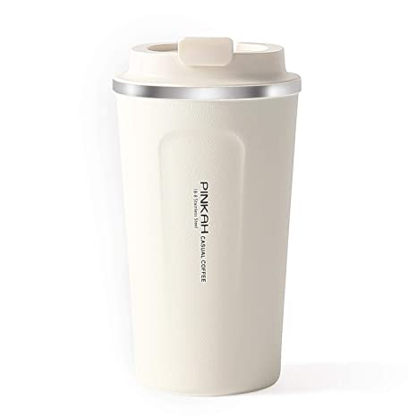 fd09dc5e34d Meigix Vacuum Insulated Water Bottle Double Wall Stainless Steel Thermos Coffee  Travel Mug With Leak Proof