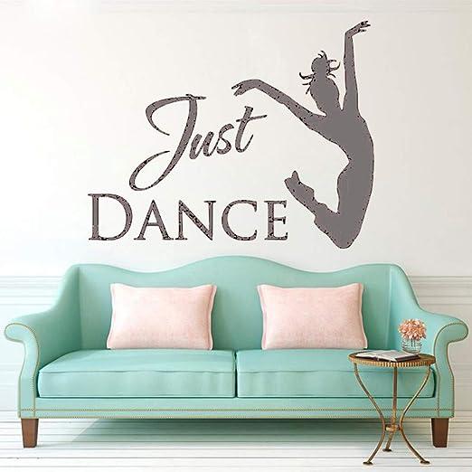 Zaosan Etiqueta de la Pared Cita Ballet Dancer Sticker Studio ...
