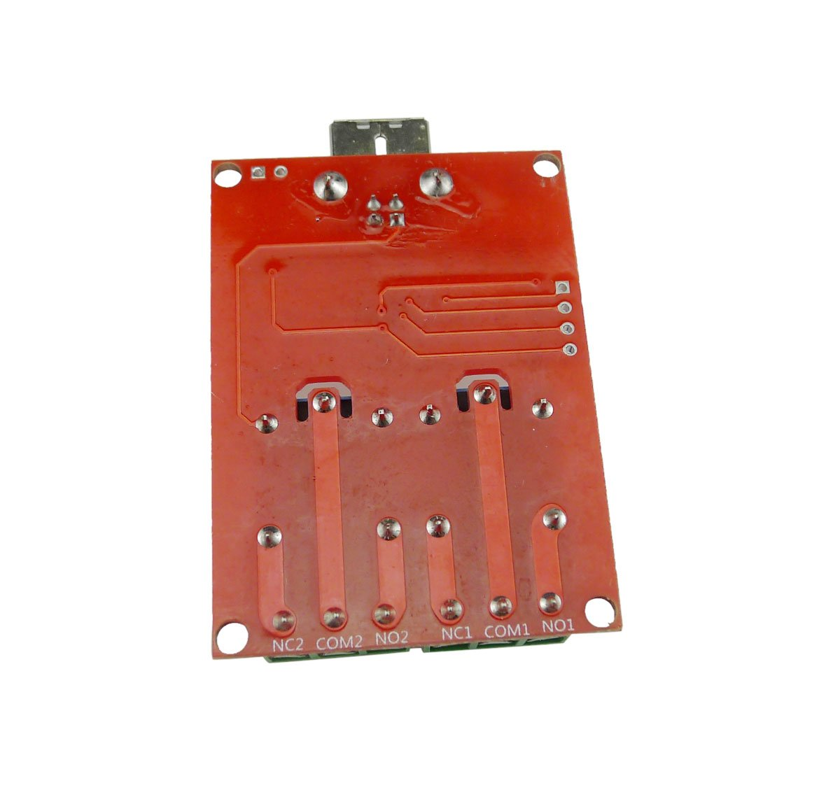 Aihasd Smart /Électronique 2 canaux DC5V Relay Module //Ordinateur USB Contr/ôle Commutateur Conduire//PC Intelligent R/égulateur