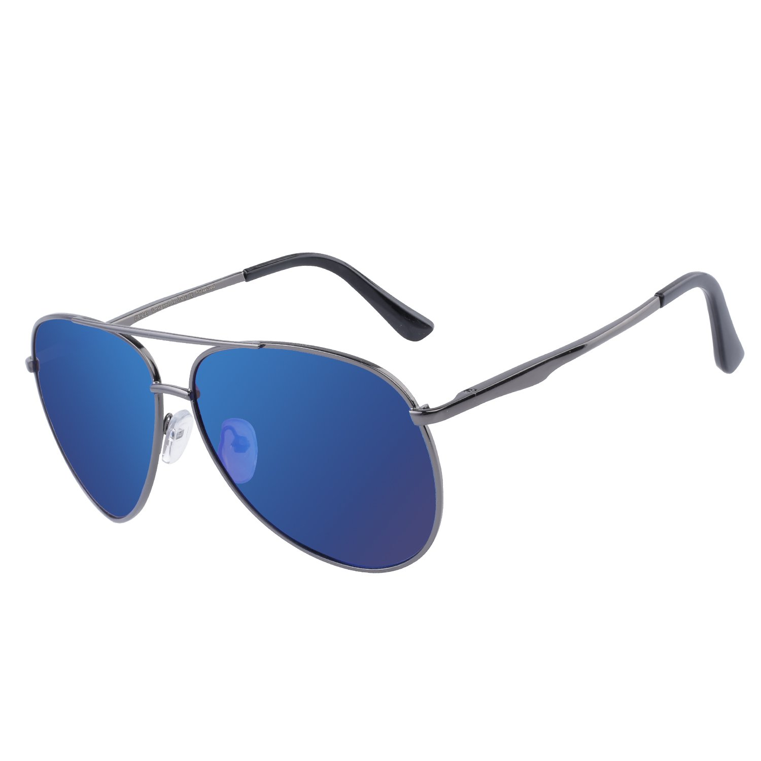 DUCO Pilot Style Polarized Sunglasses Sports Glasses Men 100% UV Protection 3025G by DUCO