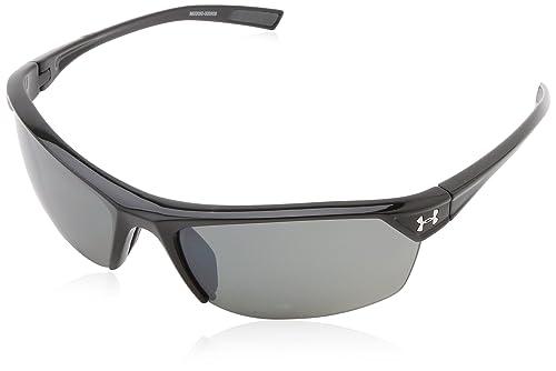 Amazon.com: Under Armour zona 2.0 Gafas De Sol Unisex, negro ...