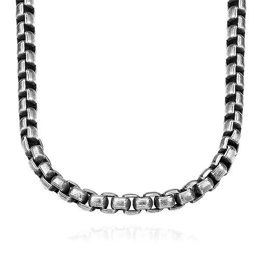 Cadena de acero inoxidable para hombre los niños joyas ...