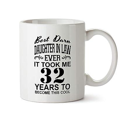 32nd Daughter In Law Birthday Gift Mug