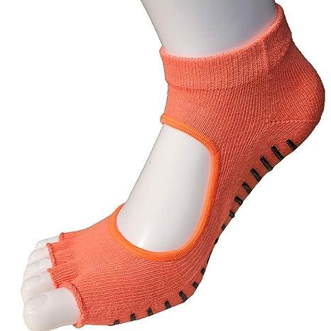 LIUYUNE,3 Pares de Calcetines de Yoga de Verano(Color:Dedo ...