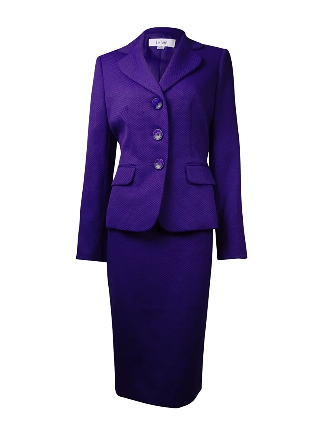 Le Suit Women's Country Club Textured Skirt