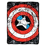 Marvel Heroes Avengers Battle Shield Plush Throw
