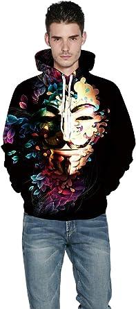 3D Print Men's Women Hoodie Sweater Sweatshirt Jacket Coat Pullover Graphic Tops