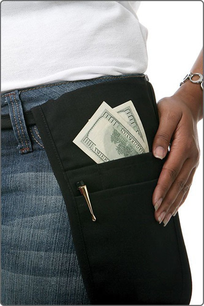 Fame Black Money Pouch by Fame Fabrics (Image #1)