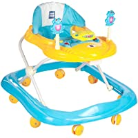 Mee Mee Simple Steps Baby Walker, Light Blue