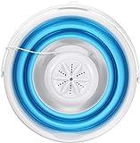 Foldable Mini Washing Machine Laundry Clothes Cleaner for Home Travel, Mini Lavadora Plegable de Ropa portátil,Lavadora…
