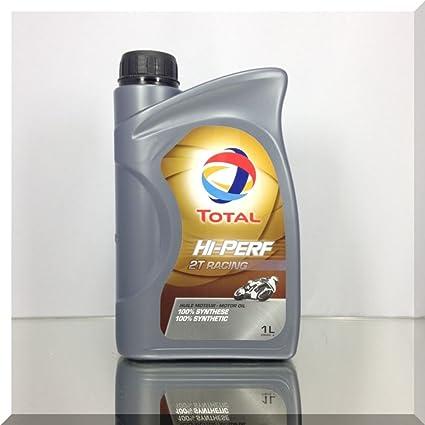 Total Racing 2T Aceite Totalmente sintético de 2 Tiempos ...