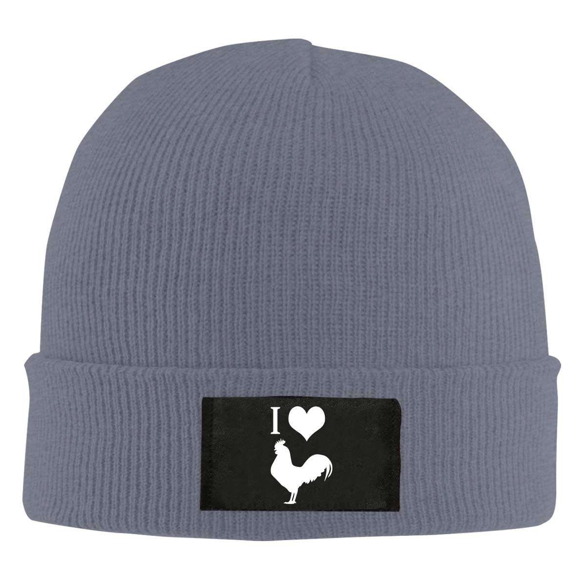 I Love Cock Men /& Womens Knitted Hat Stretchy Snowboarding Hat