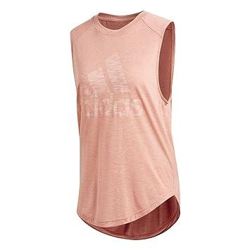 Adidas Winners M tee Camiseta, Mujer, Rosa (Rostra), 2XL