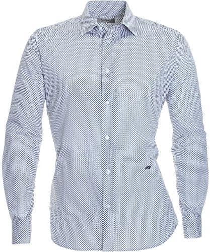 Nero Giardini - Camisa de vestir - para hombre Bianco 38: Amazon.es: Ropa y accesorios