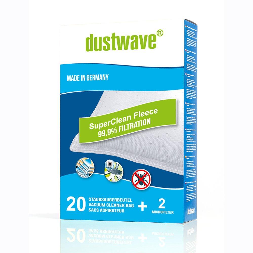 Acquisto Dustwave, 20sacchetti per aspirapolvere adatti per Hoover–aspirapolvere H 64/H64–Made in Germany + con micro filtro Prezzo offerta