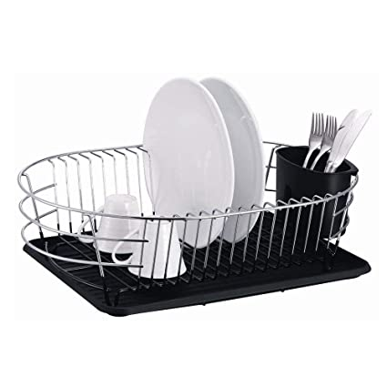 Buy Extra Large Metal Wire Dish Rack With Drain Board Online At Low