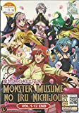 MONSTER MUSUME NO IRU NICHIJOU - COMPLETE TV SERIES DVD BOX SET ( 1-12 EPISODES )