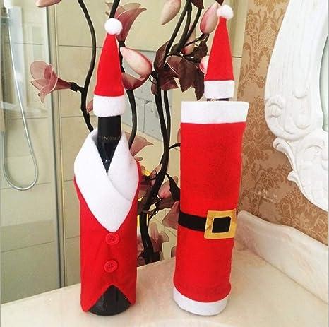 Amazon.com: OOCC - 2 bolsas de vino de Navidad para ...