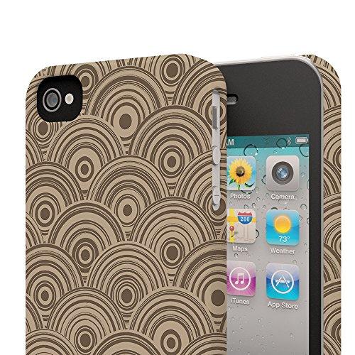 Koveru Back Cover Case for Apple iPhone 4/4S - Orbis