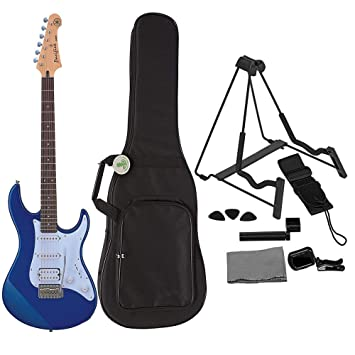 Yamaha PAC012 - Guitarra eléctrica metálica, color azul ...