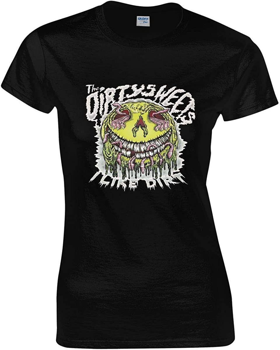 Dirty Heads Woman Tops Short Sleeve T-Shirts Black Cool Tee Shirt