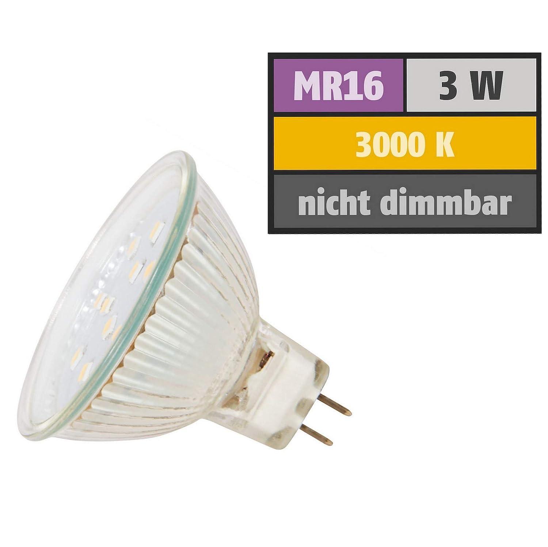 9 Stück Stück Stück SMD Decken Einbaustrahler Mia Starr 12 Volt 3 Watt - Weiß Warmweiß 8fe82e