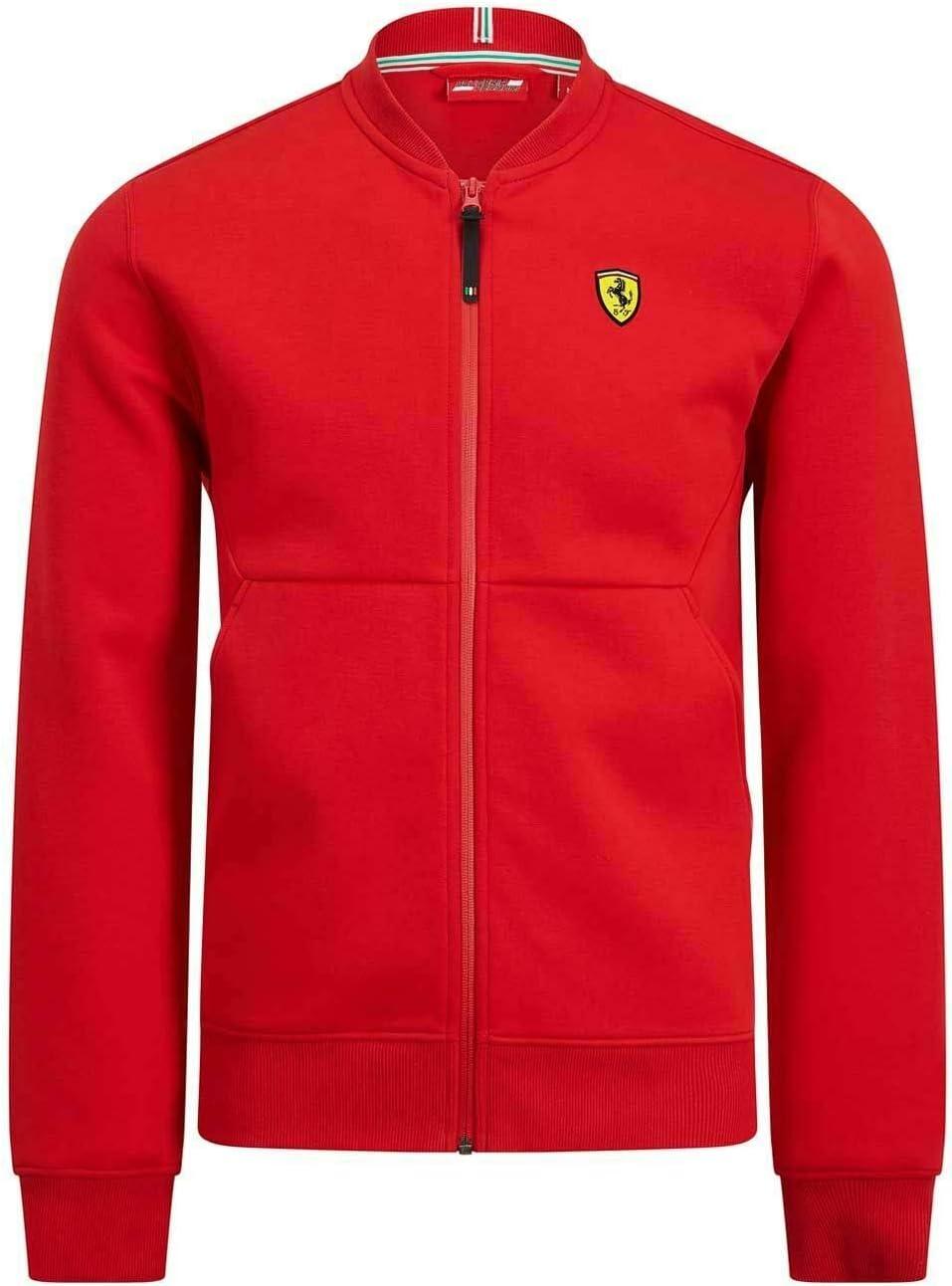 Scuderia Ferrari F1 Bomber Jacket Red Branded Sports Merchandising B.V