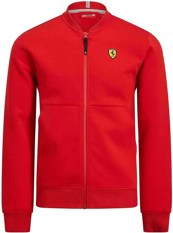 Branded Sports Merchandising B.V Scuderia Ferrari F1 Bomber Jacket Red