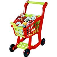 Toyshine Big Size Shopping Cart Toy, Interactive and Learning, Red