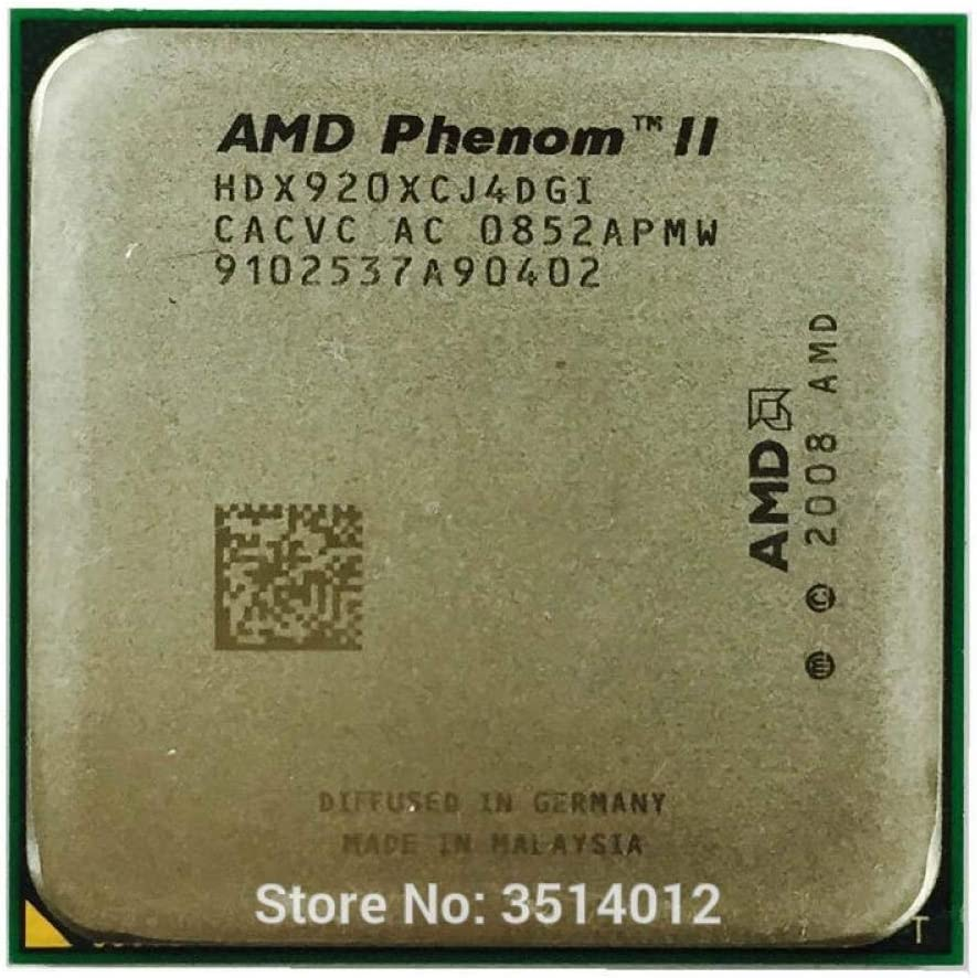 Amazon Com Amd Phenom Ii X4 920 2 8 Ghz Quad Core Cpu Processor Hdx920xcj4dgi Socket Am2 Contact To Sell X4 940 Computers Accessories