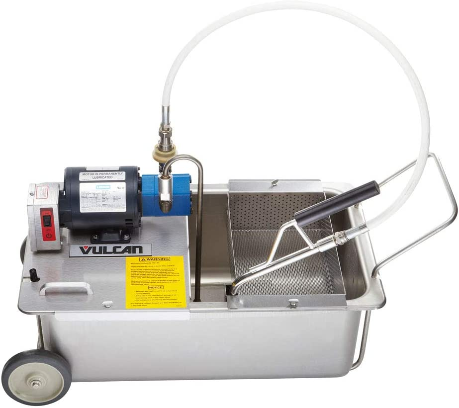 Vulcan MF-1 Portable Fryer Filtration, 110 Lb. Oil Capacity, 120/60/1