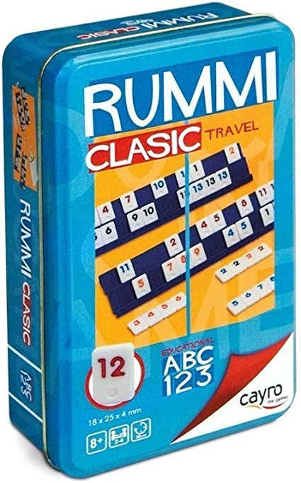 Cayro - Rummi de viaje - Juego tradicional - juego de mesa ...