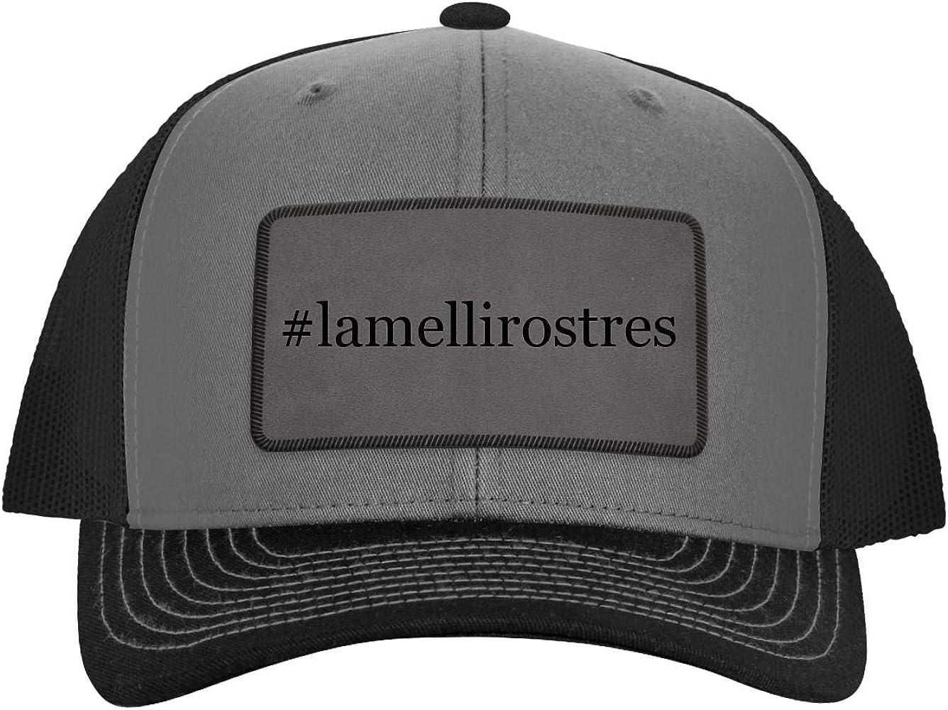 Hashtag Leather Dark Brown Patch Engraved Trucker Hat One Legging it Around #Griner