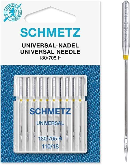 Agujas para máquina de coser 130/705 H Nm 110 SB10-Karte: Amazon ...