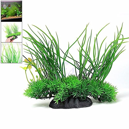 new-8-green-artificial-aquarium-fish-tank-plastic-plant-water-grass-decor-ornament-set-15