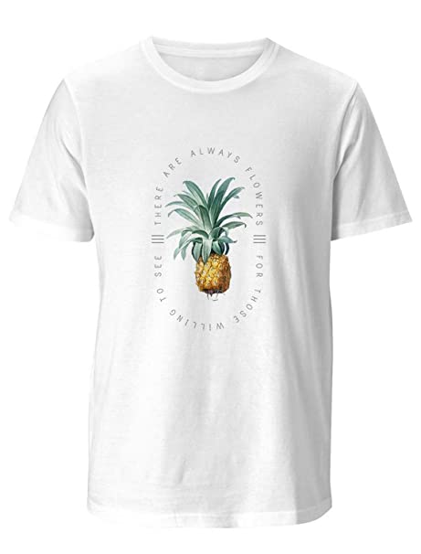 : DJ Original T Shirt Simple Watercolor Pineapple