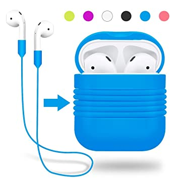 AirPods Case Protective, Yometome Apple airpods funda A prueba de choques Silicone Protective cover Accessories