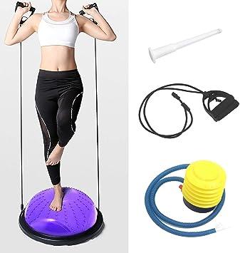 ISE Balance Trainer Fitball Media Bola de Equilibrio para ...
