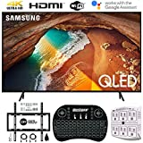 Samsung QN82Q60RA 82' Q60 QLED Smart 4K UHD TV (2019 Model) (Renewed) w/Flat Wall Mount Kit Bundle for 45-90 TVs +...