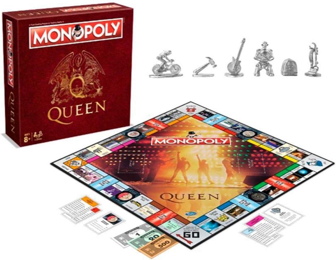 Monopoly - Oficial queen - merchandising música, Inglés: Amazon.es: Juguetes y juegos